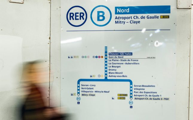 Trains between Paris and CDG airport remain suspended