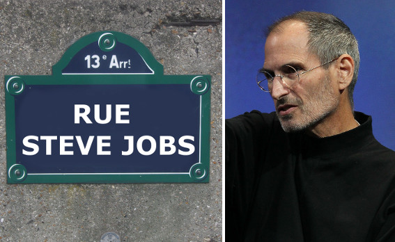 Anger in Paris over plan for a 'Rue Steve Jobs'