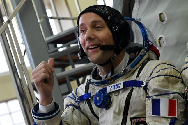 LIVE VIDEO: French astronaut takes spacewalk