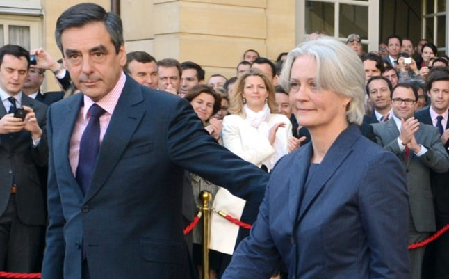 Fillon and British wife Penelope grilled by police over fake job claims