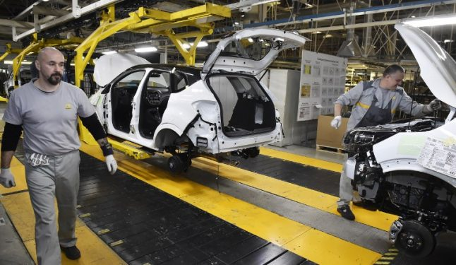 French car market zooms to five-year high