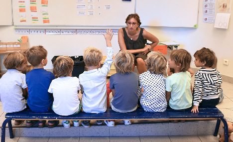 Stressed French teacher in trouble for taping naughty pupils to chairs