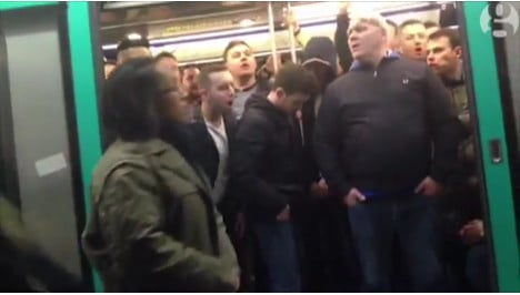 British football fans guilty over racism in Paris