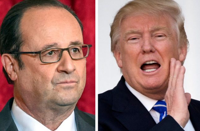 France hits back at Trump's 'declaration of war' on Europe
