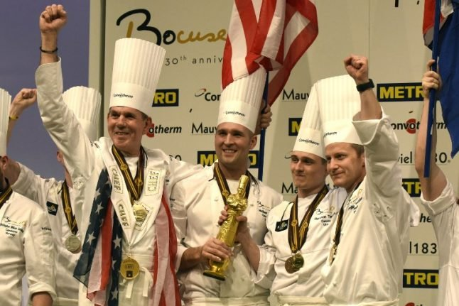 American chefs win top French cooking competition