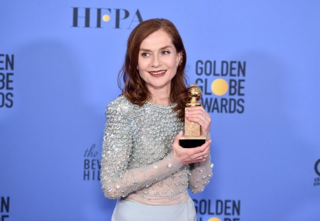 French actress wins big at Golden Globes