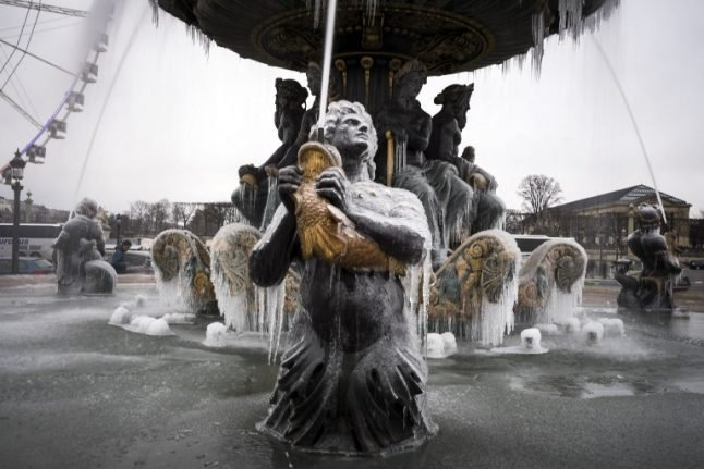Ten 'very cold' cities that are WARMER than Paris right now