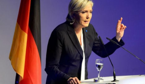 'Europe will wake up in 2017', Le Pen says in Germany