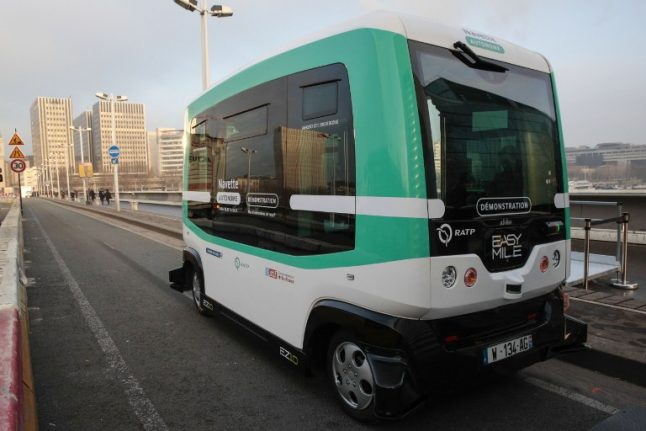 The French Travelution: Parisians can now take a driverless minibus between two train stations
