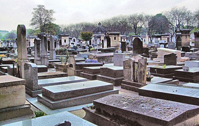 Jihadists 'stashed thousands of euros' among graves at famous Paris cemetery