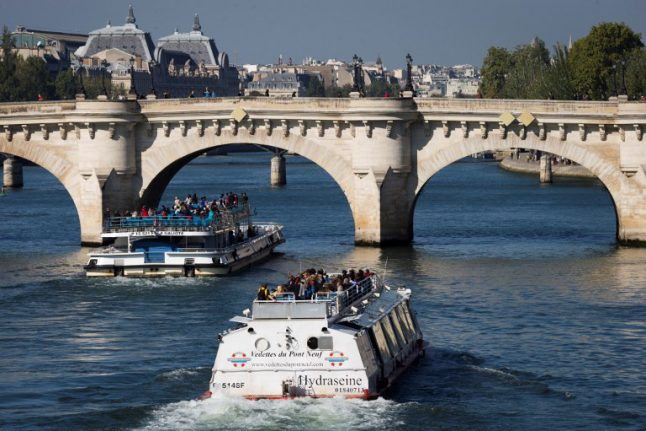 Paris looks to drive transport off the roads and onto the River Seine