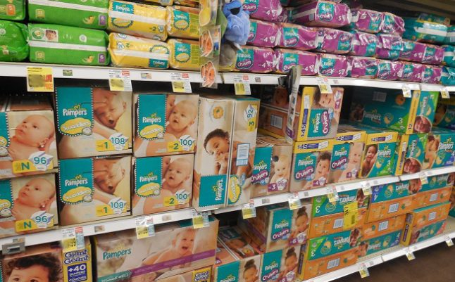 'Toxic substances' found in most nappies sold in France
