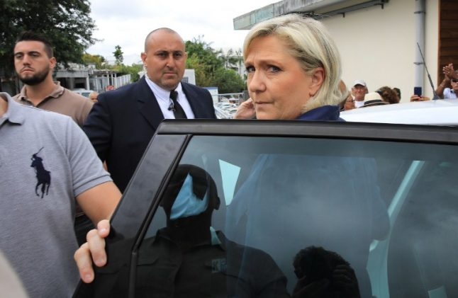 France's far-right irate over 'Le Pen' character in new film