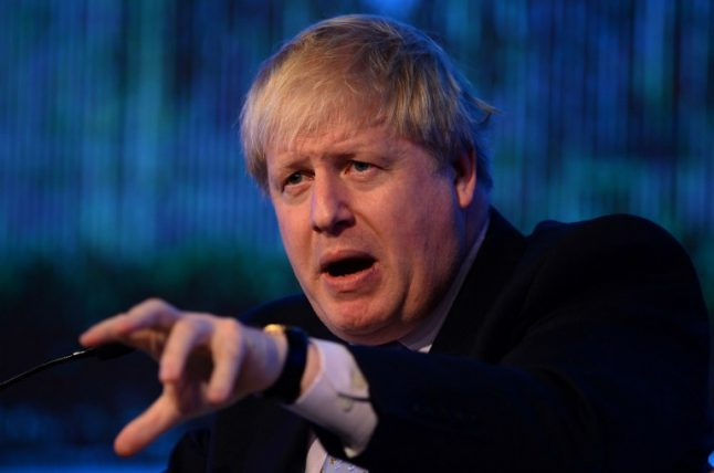 Brexit: Boris Johnson warns Hollande over WWII-style 'punishment beatings'