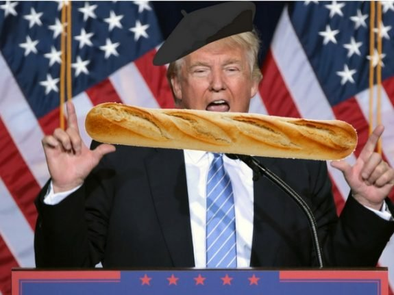 Trump fans 'go online disguised as French' to help Le Pen's election hopes