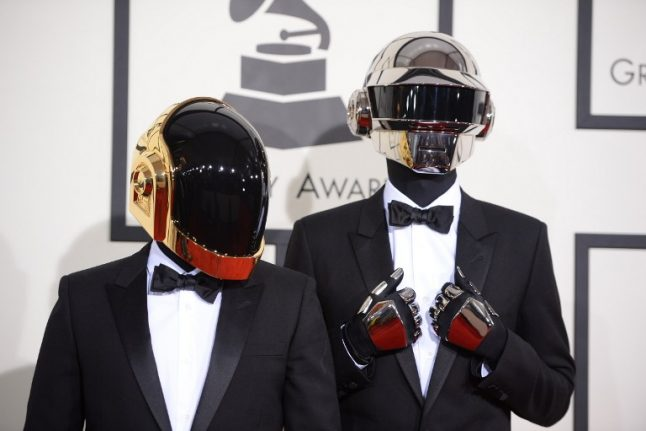 They're back: Daft Punk to play at Grammys