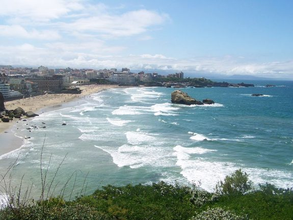 Biarritz tops the rankings of France's favourite beaches