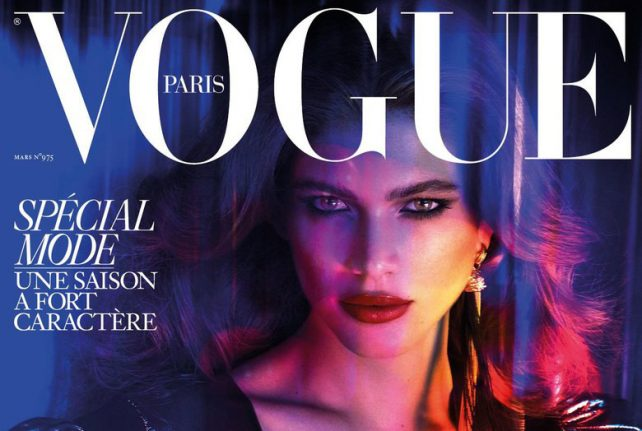 French Vogue magazine puts transgender model on cover for first time