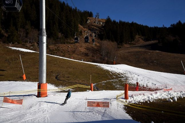 Bad news for skiers: Climate experts give grim outlook for French Alps