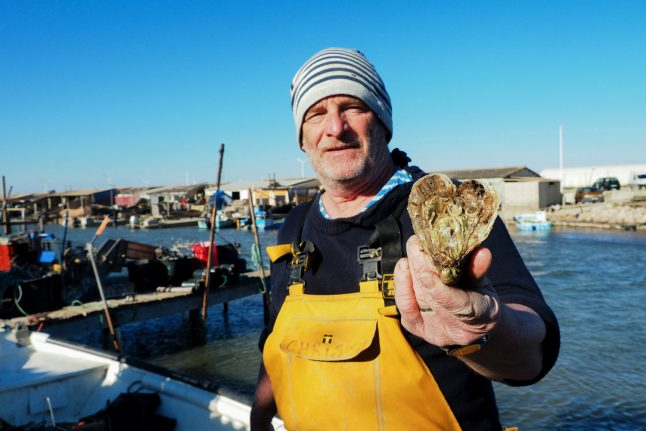 Frenchman creates heart-shaped oysters after being wooed by wife