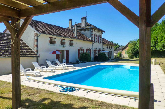 French Property of the Week - Converted school house with a pool in Limousin