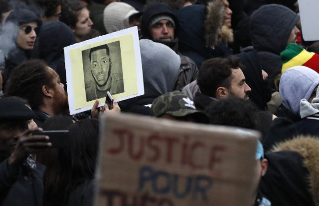 Hollande wants justice over alleged police rape while Le Pen 'pours fuel on fire'