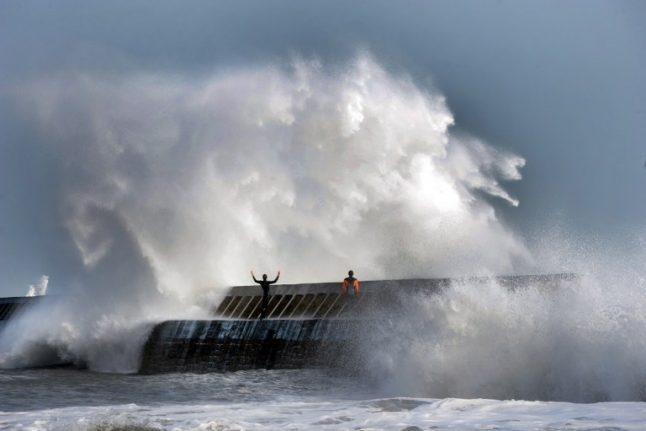 Violent storms set to lash Brittany and Normandy