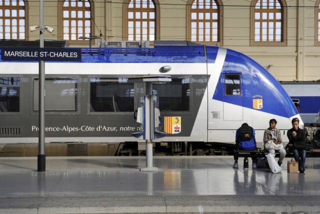 Train services across France hit by rail strike
