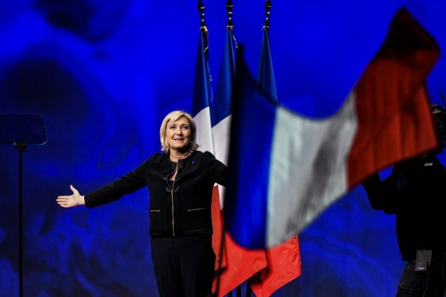 'Be inspired by Trump voters' says Le Pen at campaign launch