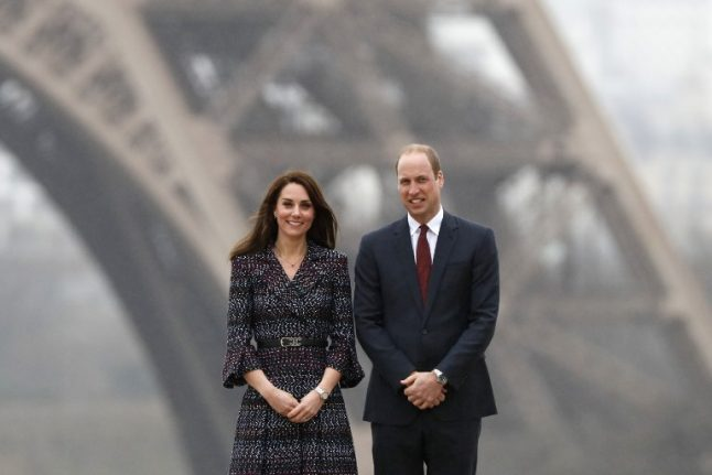 In pictures: Prince William talks Brexit on Paris visit with Kate