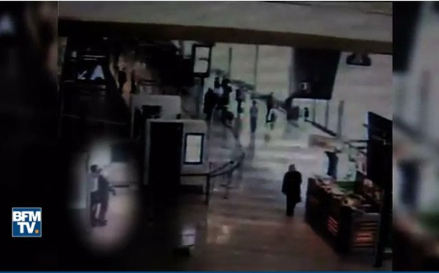 VIDEO: CCTV footage emerges from Orly airport attack