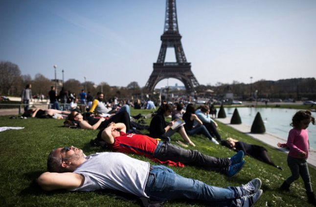 Spring finally arrives as France to get soaked in sunshine