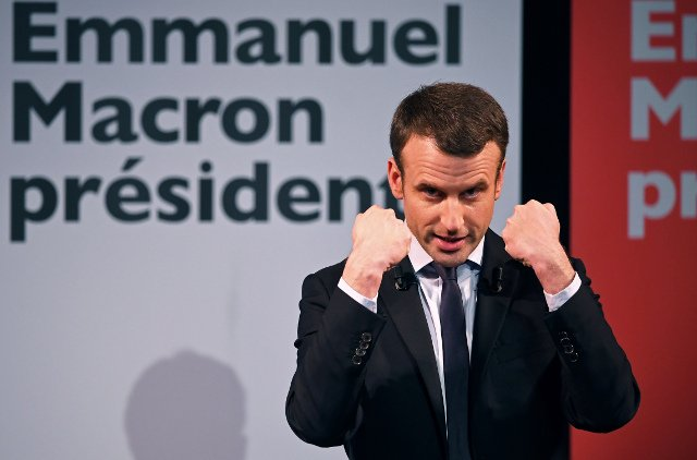 Macron leads Le Pen for first time but his voters are far from sure