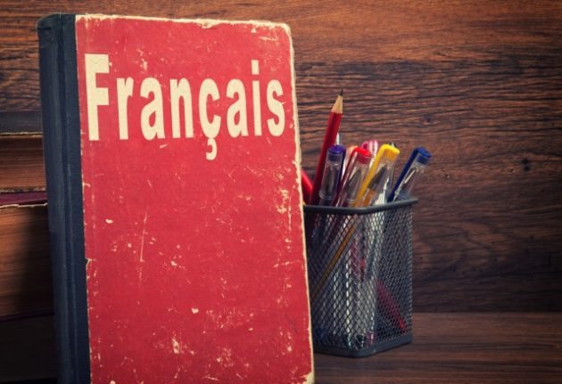 What's the state of health of the French language in 2017?