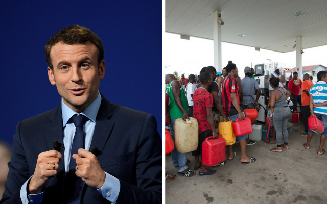 Macron makes geography gaffe about troubled French Guiana