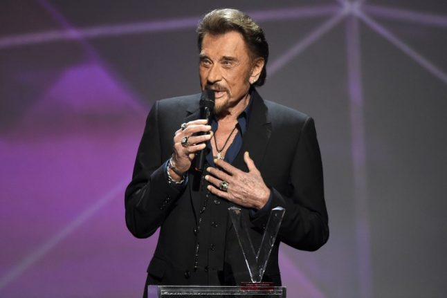 Johnny Hallyday: 'I have cancer, but it's not life-threatening'