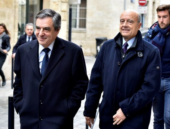 Embattled Fillon says 'no one' can stop him as Juppé set to break silence