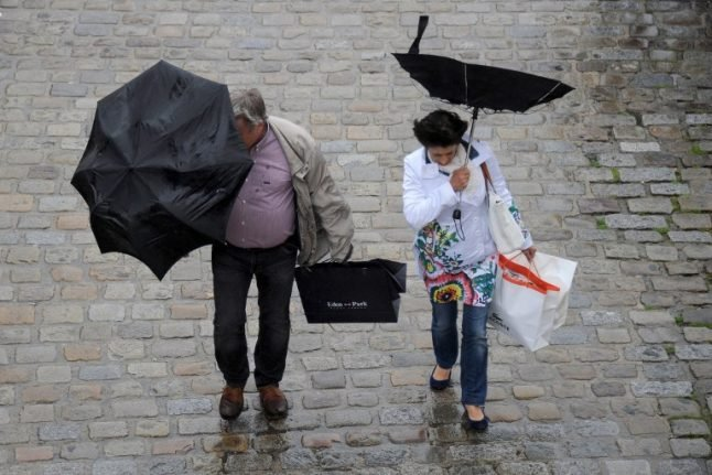 Southern France warned for fierce winds and snow