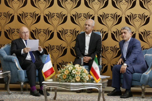 France to encourage banks to work with Iran: minister
