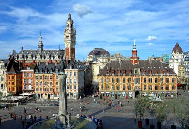 The most beautiful squares across France
