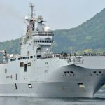 French ship in Japan for naval drill as N.Korea tensions rise