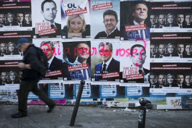Here's what happened this weekend in France's presidential race