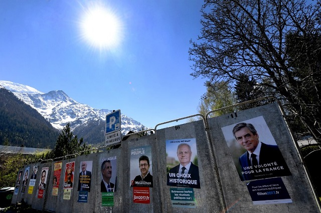 Here's what's happening in the French election campaigns