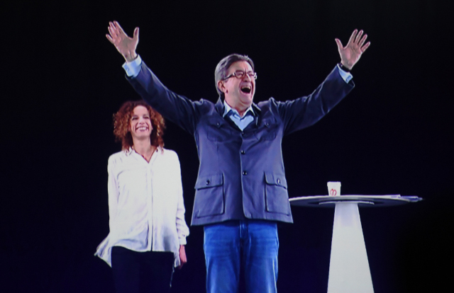 Holograms and heightened security at final campaigns of the French election
