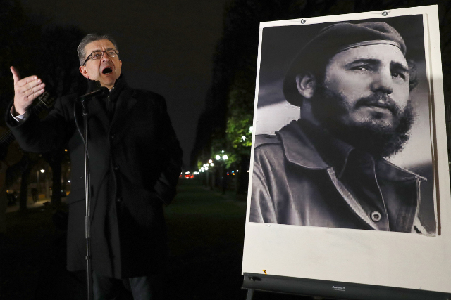 Mélenchon  – the 'French Fidel Castro' – comes under attack as his stock continues to rise