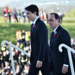 Trudeau says 'Canada was born here' during commemorative visit to France