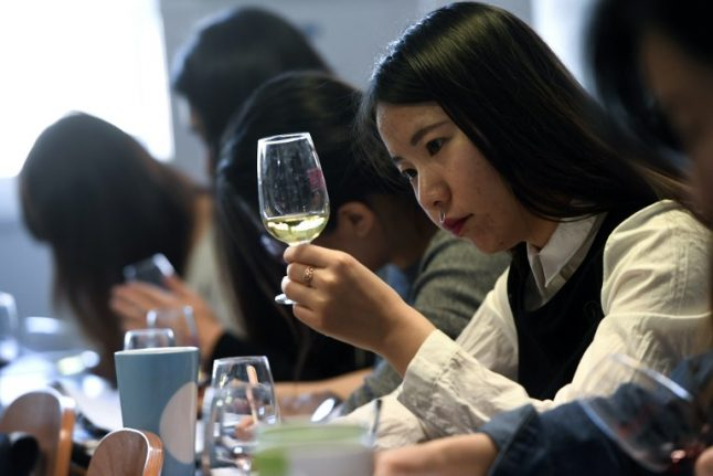 Chinese students flock to France to learn secrets of winemaking