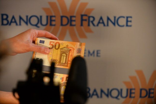 France gets new anti-forgery 50-euro notes