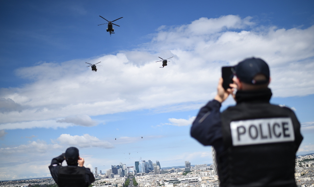 Parisians told don't fret about the helicopters – Tom Cruise is in town