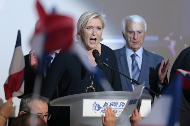 Le Pen says France not responsible for roundup of Jews in WWII